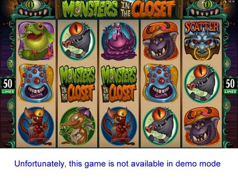 Monsters in the Closet Game Preview