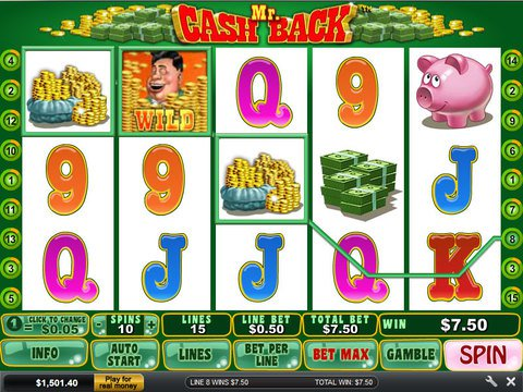 Try The Mr. Cashback Slots With No Download
