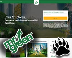 Mr Green Casino No Deposit Code