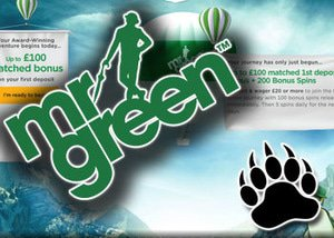 mr green bonus march spring clean promo