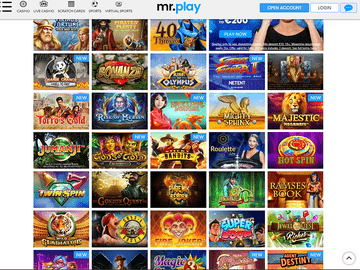 Mr Play Casino Software Preview
