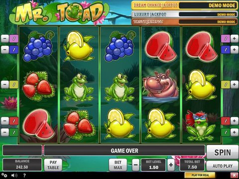 Mr Toad Game Preview