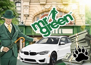 Mr Green Casino win a luxury car and cash