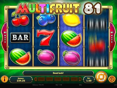 Multifruit 81 Game Preview