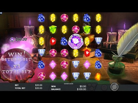 Mysterious Gems Game Preview
