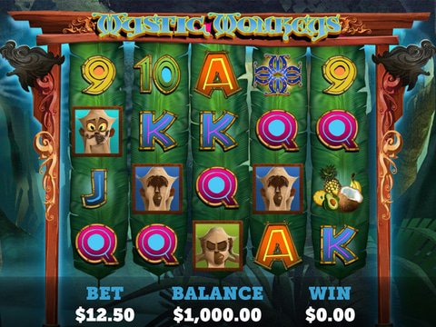Play Mystic Monkeys Slot Machine Free with No Download