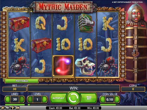Scary Good Times With No Download Mythic Maiden Slots