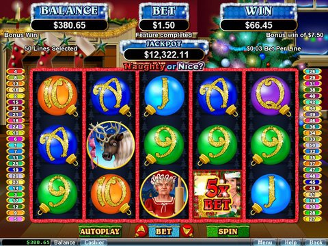 Play The Naughty Or Nice Slot Game With No Download