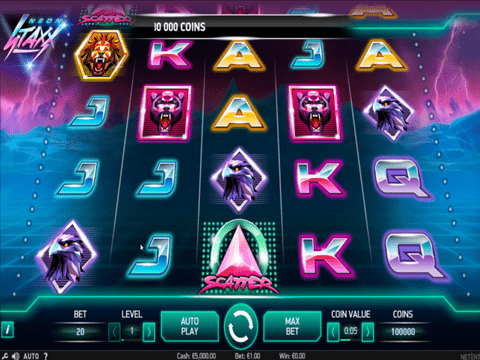 Try The Neon Staxx Slot With No Download Required