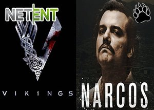 NetEnt Casinos Vikings and Narcos Slots
