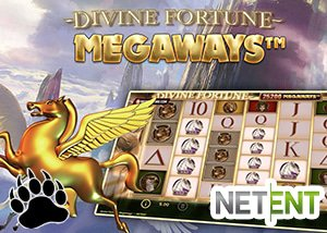 NetEnt Divine Fortune Megaways Slot at Mr Green Casino