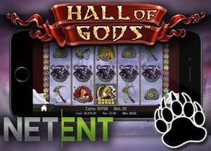 netents hall of gods new slot mobile