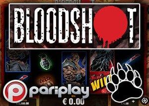 pariplay casinos new bloodshot slot