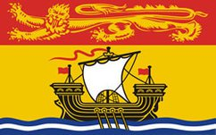 New Brunswick provincial flag