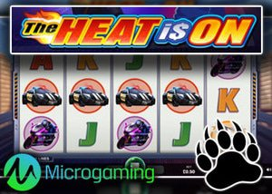 microgaming casinos new heat is on slot