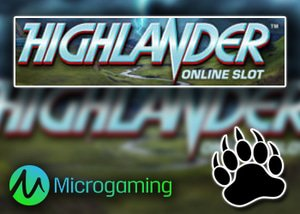 New Highlander Slot Coming to Microgaming Casinos