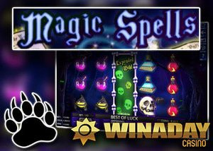 new magic spells slot winaday casino