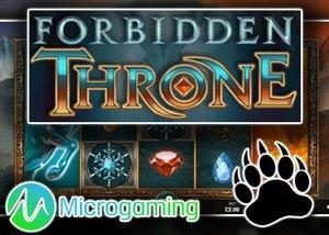 new forbidden throne slot microgaming casinos