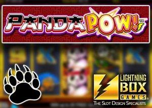 new panda pow slot lighting box games