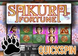 quickspin casinos new sakura fortune slot