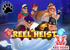 new reel heist slot red tiger gaming casinos