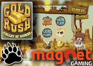 magnet gaming casinos new slot gold rush