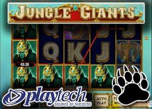 new jungle giants slot playtech casinos