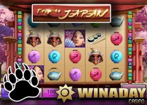 New Slot Trip to Japan at Win A Day Casino