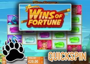new wins of fortune slot quickspin casinos
