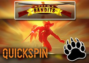 new sticky bandit slot quickspin casinos