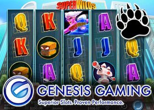genesis gaming announces new super wilds slot