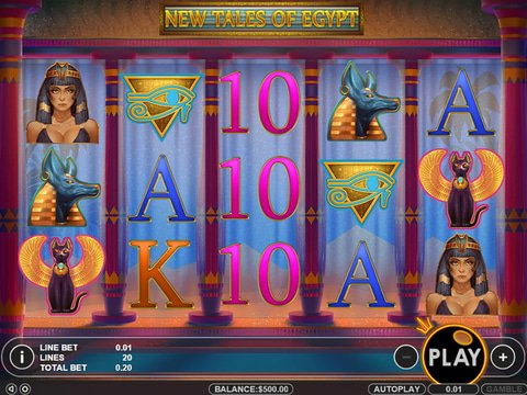 Play New Tales Of Egypt Online With No Registration Required!