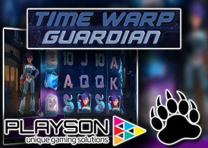 new time warp guardian slot playson casinos