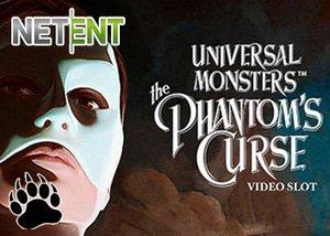NetEnt Casinos Universal Monsters™: The Phantom's Curse Slot