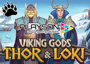new viking gods thor loki slot plays casinos