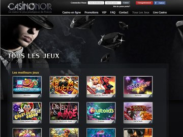 Noir Casino Software Preview