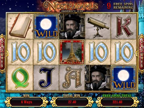 Play The Nostradamus Slot Machine For Free With No Download
