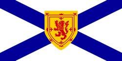 Nova Scotia provincial flag