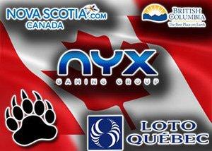 BC Nova Scotia and Quebec grant NYX provincial access