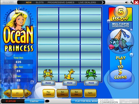 Ocean Princess Game Preview