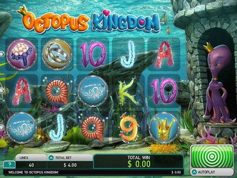 Play Octopus Kingdom Slot Machine Free with No Download
