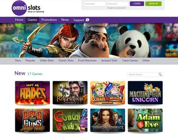 Omni Slots Casino Software Preview