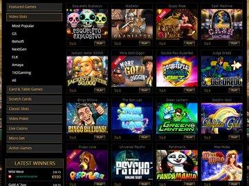 ParkLane Casino Software Preview