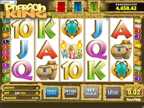 Pharaoh King Game Preview