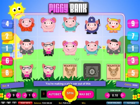 Piggy Bank Game Preview