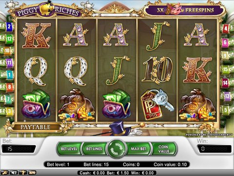 Review the Piggy Riches Slots with No Download Here