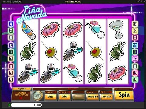 No Download Pina Nevada Reel Slot Machine