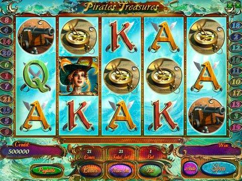 Pirates Treasure Slot Machine: Free Play Swashbuckling Fun