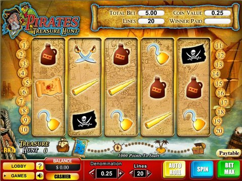 Pirates Treasure Hunt Game Preview