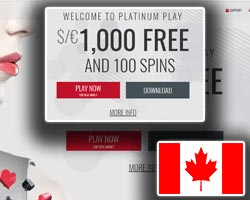 platinum play casino welcome bonus and promotions